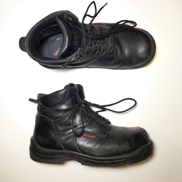 d03e6dbc9f2 Red Wing Work Boot Composite Toe Mens Size 9 D